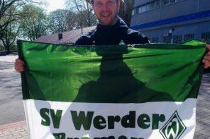 Retro-Fahne für Bremer Jugendhäuser